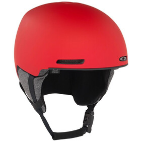 Oakley MOD1 Casco da sci, red line